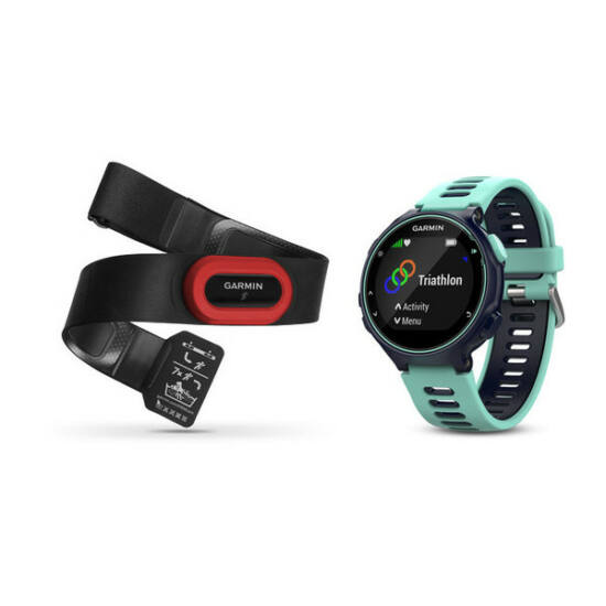 Garmin Forerunner 735XT RUN Bundle kék