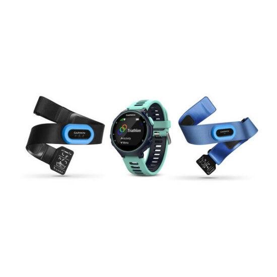 Garmin Forerunner 735XT TRI Bundle kék