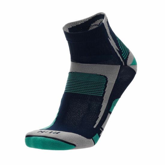 MICO Argento X-Static futózokni kék-azúr