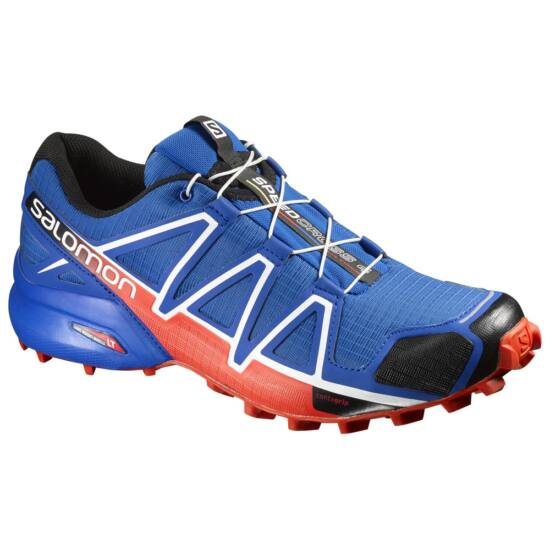 Salomon Speedcross 4 blue/lava