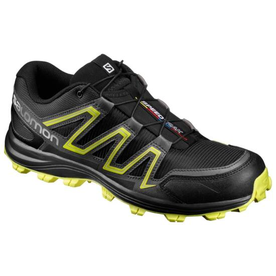 Salomon Speedtrak black-yellow