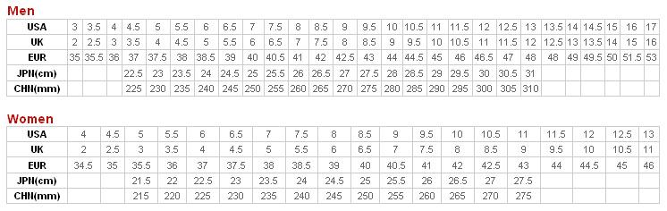 Saucony modellek esetében indokolt egy teljes számmal nagyobb méret  választása a megszokott utcai mérethez viszonyítva. 63b74ebb47